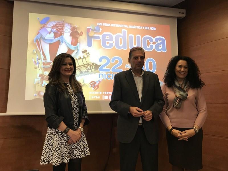 Feduca abre sus puertas la próxima semana, donde se darán cita 67 centros educativos de las provinci