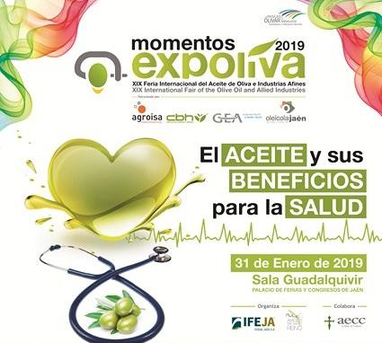 """El aceite de oliva y sus beneficios para la salud, centrarán el cuarto """"Momento Expoliva"""""""