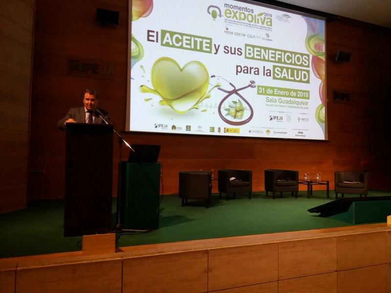 """Gran éxito del cuarto """"Momento Expoliva"""", centrado en el aceite de oliva y sus beneficios para la sa"""