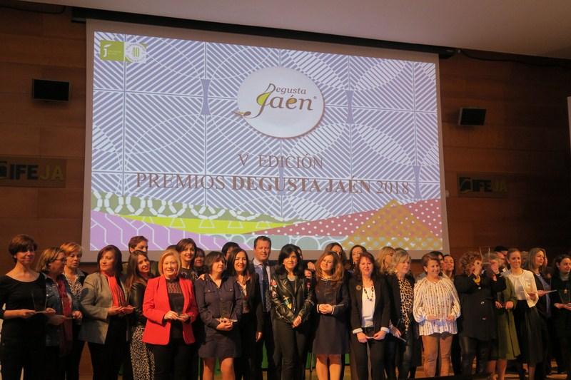 Diputación distingue a empresas destacadas del sector agroalimentario en sus V Premios Degusta Jaén