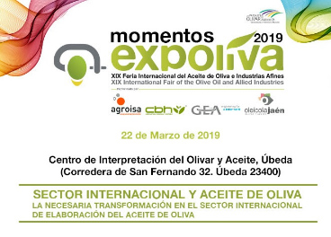 """El quinto """"Momento Expoliva"""" se centra en la internacionalización en la elaboración de aceite de oli"""