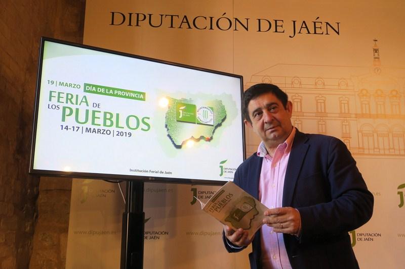"""Más de 250 expositores se darán cita en la VI Feria de los Pueblos, """"el mejor escaparate de nuestros"""