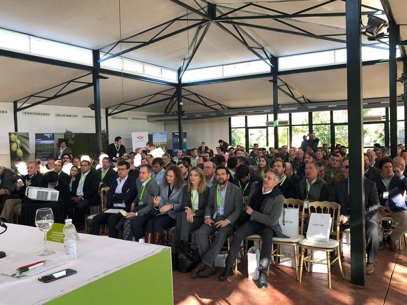 Más de 300 profesionales están participando hoy en la jornada sobre la evolución del almendro y el o