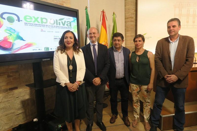 Expoliva 2019 volverá a situar a Jaén como el gran escaparate del presente y futuro del sector oleíc