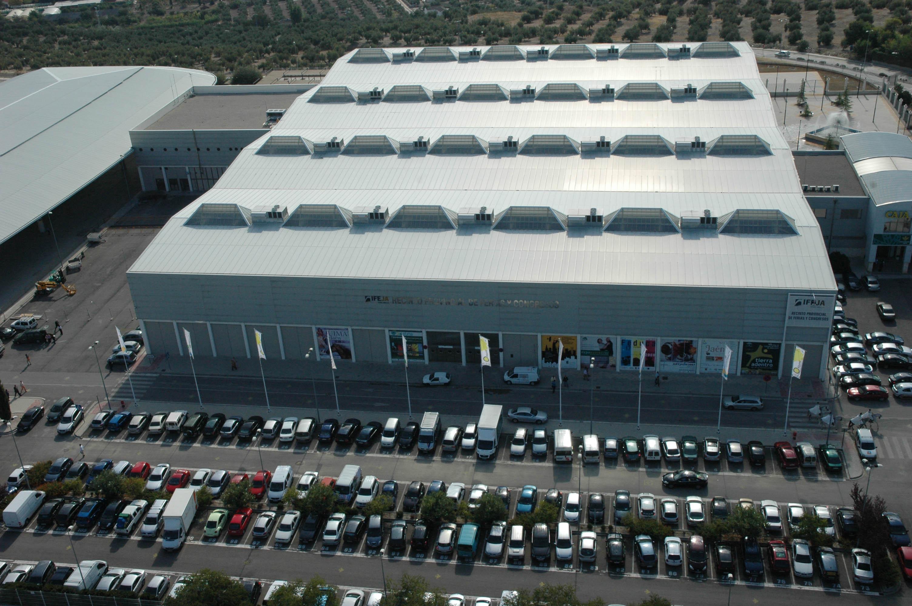 Expoliva habilita cerca de 3.000 plazas de aparcamiento dentro del Recinto de IFEJA para visitantes