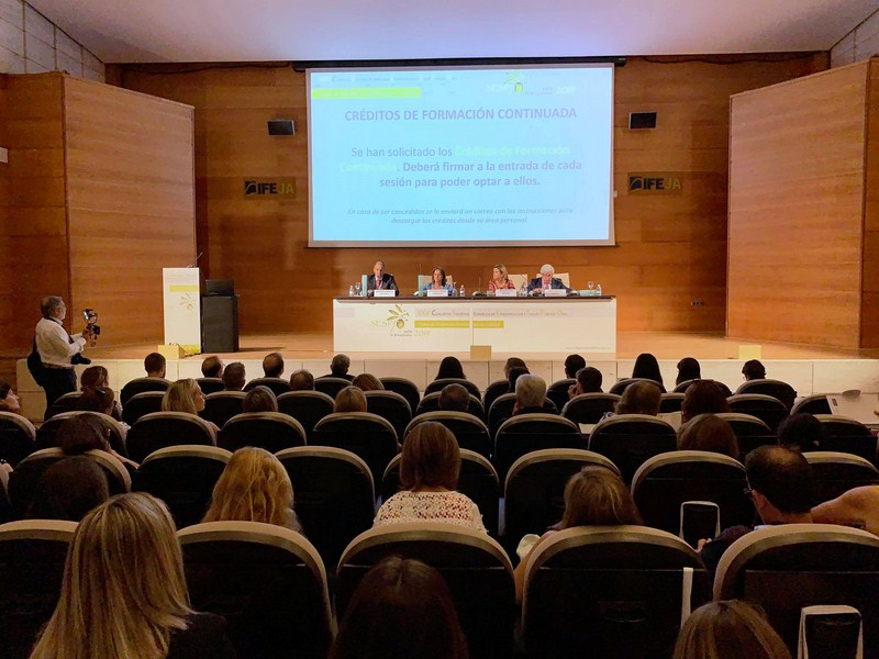 El Palacio de Congresos de Jaén acoge hoy y mañana el XXV Congreso Nacional de la Sociedad Española