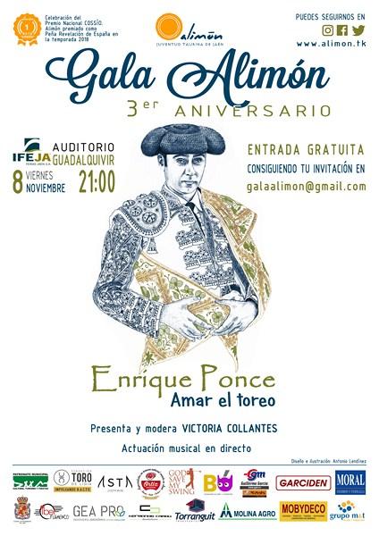 Esta noche, en el Palacio de Congresos de Jaén, 3ª Gala Alimón, que contará con la presencia del tor