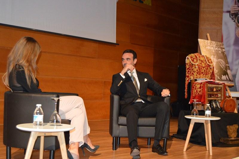Enrique Ponce, protagonista de la tercera edición de la Gala Alimón que se ha celebrado en el Palaci