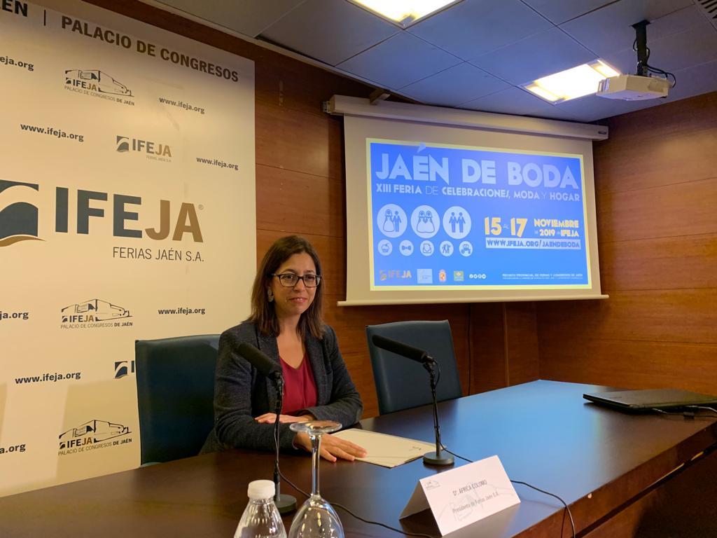 Más de 90 empresas del sector eligen Jaén de Boda para mostrar sus productos y servicios destinados
