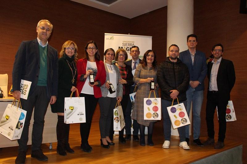 Presentación en el Palacio de Congresos de Jaén los primeros AOVEs D.O. Sierra Mágina, que destacan