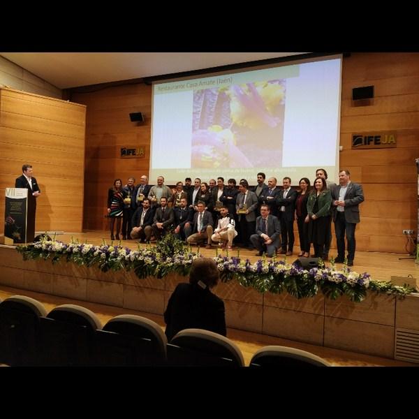 El Palacio de Congresos de Jaén ha acogido la séptima edición de los Premios Gastronómicos Amigos de