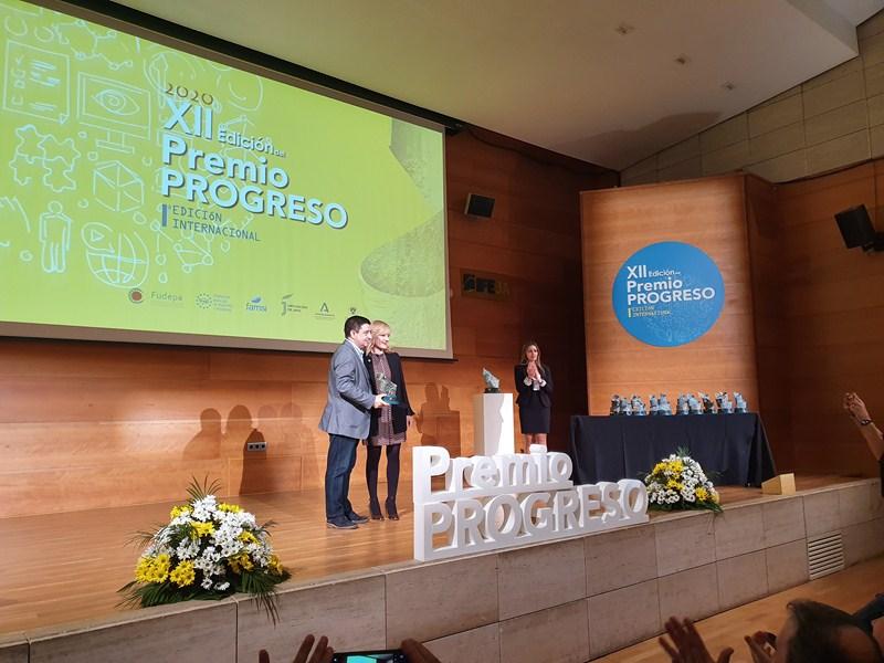 Los Premios Progreso celebran su XII Edición en el Palacio de Congresos de Jaén a puerta cerrada por