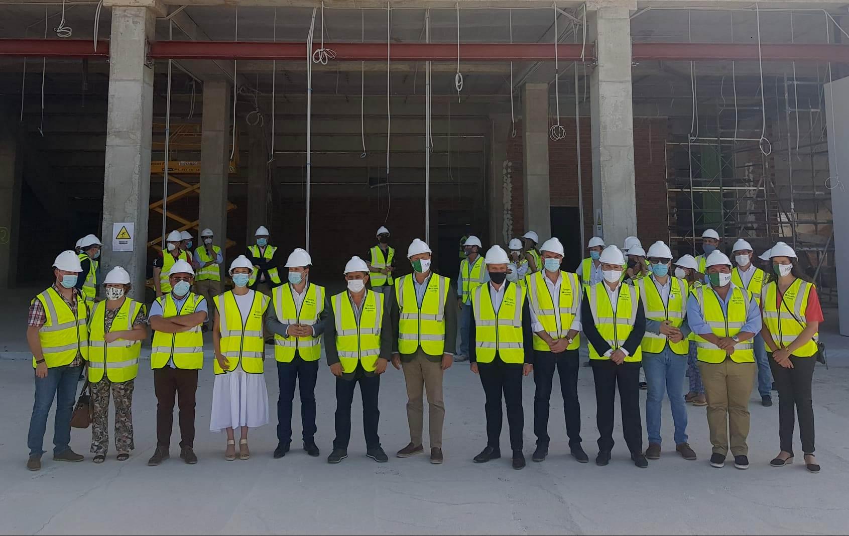 Las obras del Olivo Arena superan ya el 50% de ejecución y se prevé que estén concluidas para finale