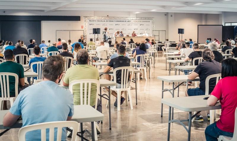 El Ayuntamiento de Jaén examina durante dos días en IFEJA a 241 aspirantes a ocho plazas del Centro