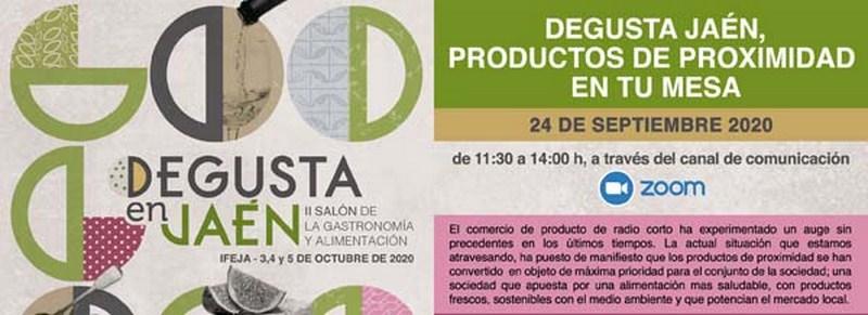 La Diputación de Jaén promueve una Webinar centrada en la oportunidad para los productores de la mar