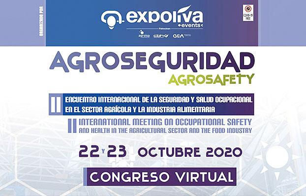 Un centenar de profesionales se han inscrito en Agroseguridad, que se celebrará los días 22 y 23 de