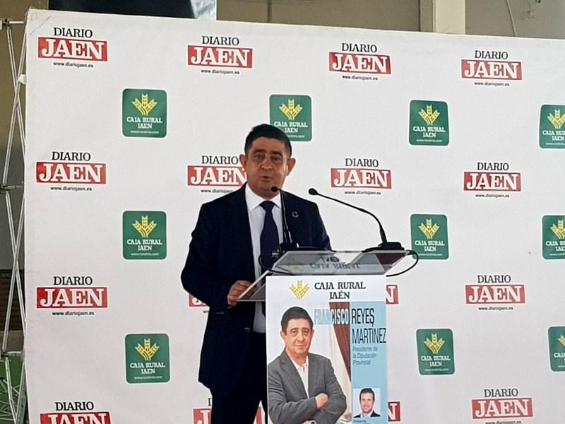 """El presidente de la Diputación ha ofrecido en IFEJA una conferencia titulada """"Jaén, ante la nueva no"""