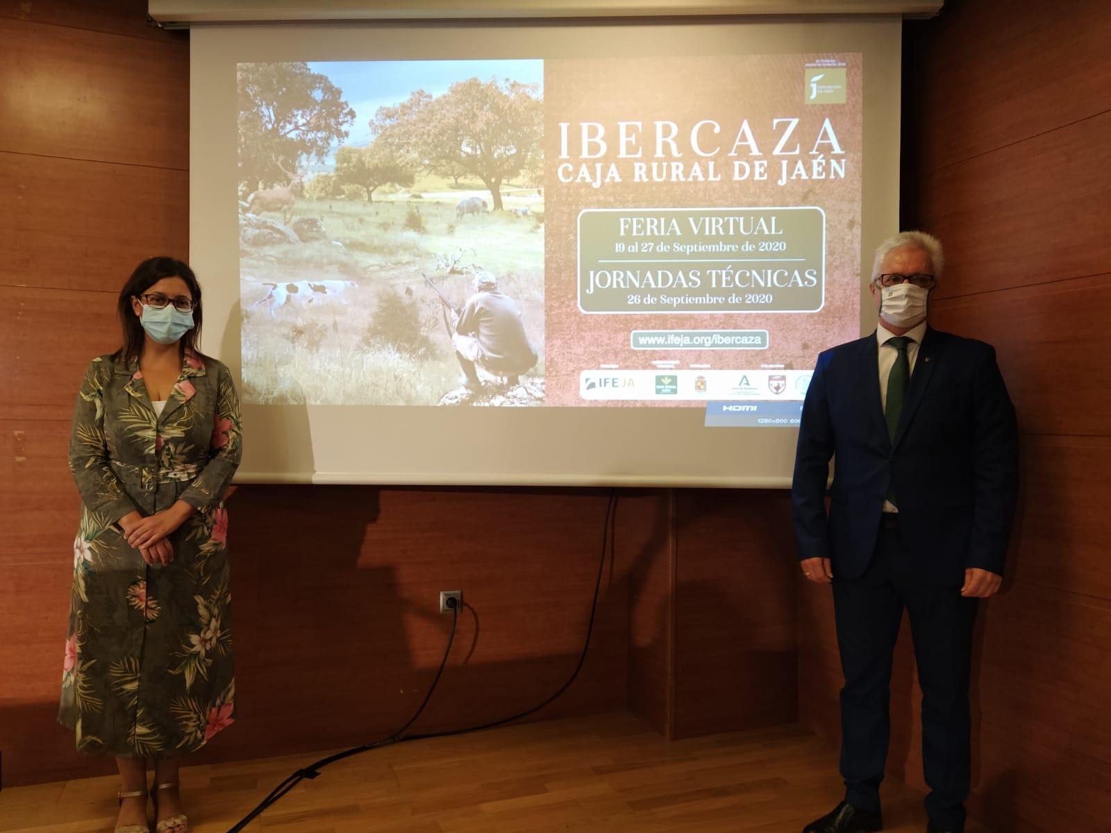 Una plataforma virtual, permite celebrar la decimocuarta edición de Ibercaza Caja Rural de Jaén con