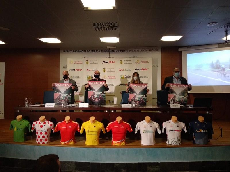 Presentación en el Palacio de Congresos de Jaén de la XXXVI Clásica Ciudad de Torredonjimeno – Copa