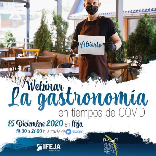 """IFEJA y Amigos del Santo Reino celebrarán mañana la Webinar """"La Gastronomía en tiempos del COVID"""""""