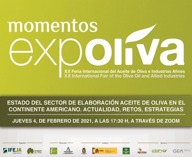 El estado del sector de elaboración del aceite de oliva en el continente americano, centrará el prim