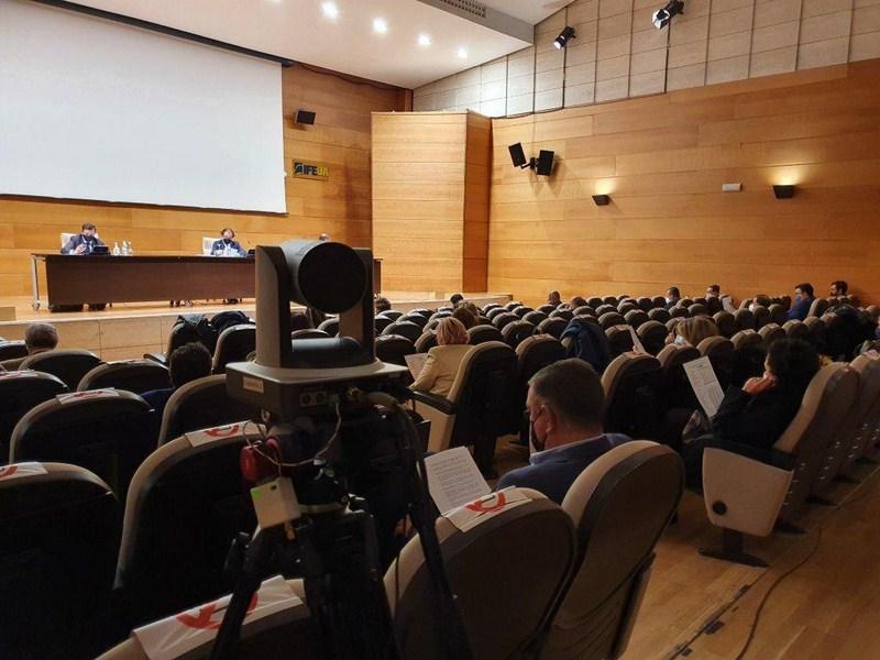 El Palacio de Congresos de Jaén cuenta con la versatilidad de poder acoger grandes eventos cuidando