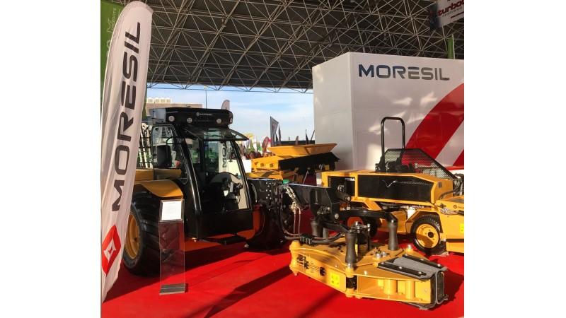 Moresil presentará sus novedades en maquinaria para el olivar durante la próxima edición de Expoliva