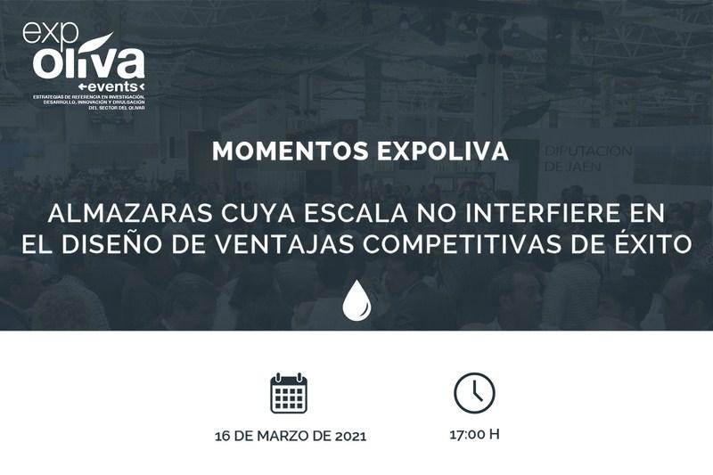 Casi 200 inscritos de 13 países participan mañana en un nuevo Momento Expoliva que tratará sobre cas