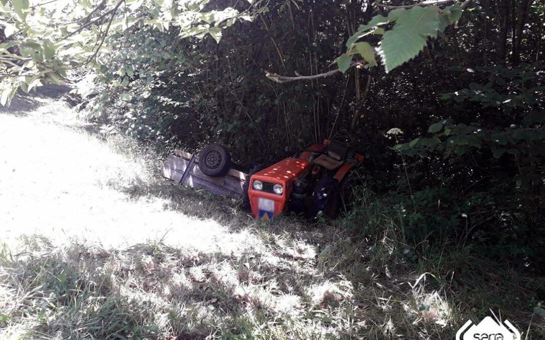 Un joven de 25 años fallece y otro jubilado de 85 resulta heridos en otros dos accidentes ocasionado