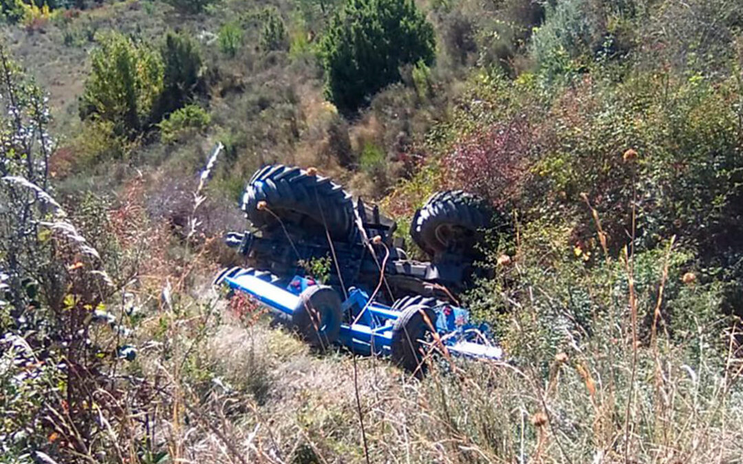 Tuvo un accidente con su tractor, fue rescatado y ahora le piden una condena por dar una tasa de alc