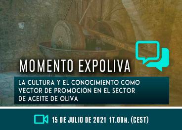 """""""La cultura y el conocimiento como vector de promoción en el sector de aceite de oliva"""", nuevo Momen"""