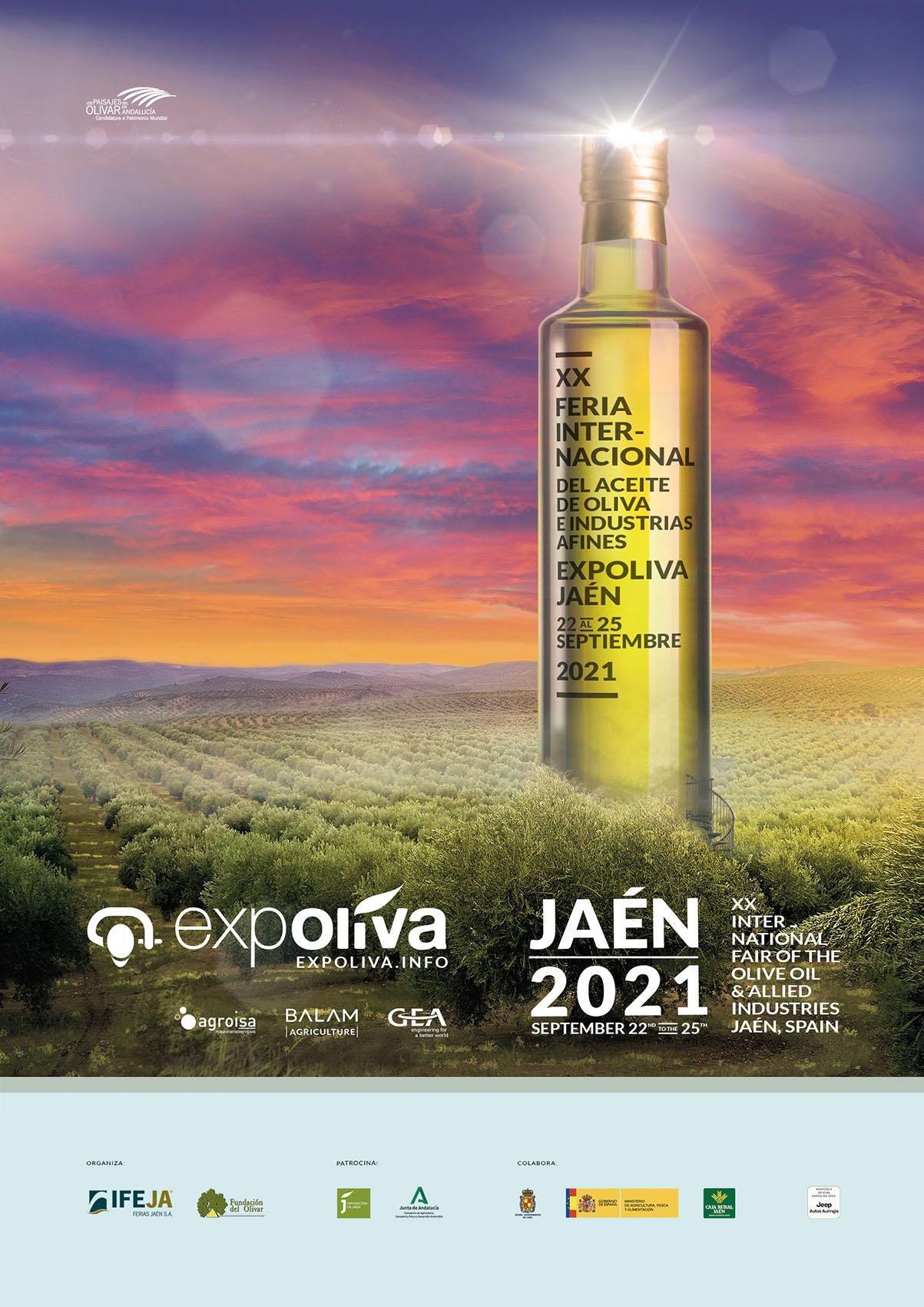 Los organizadores de Expoliva determinan que la feria se celebrará del 22 al 25 de septiembre, acort