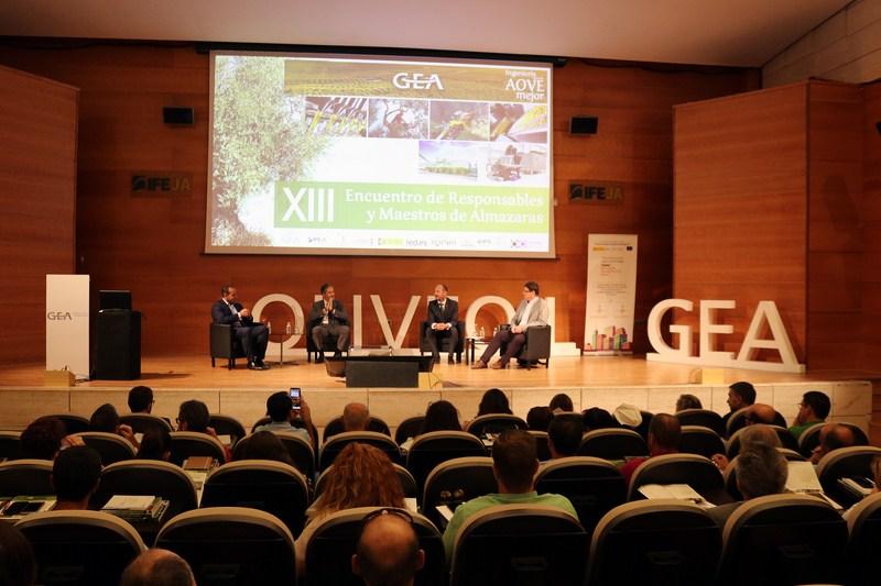 GEA organiza mañana el XV Encuentro de Maestros y Responsables de Almazara, uno de los mayores event