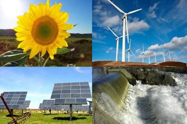 Energ�as renovables, e�lica, termosolar, fotovoltaica, geot�rmica, hidr�ulica y biomasa, suponen el