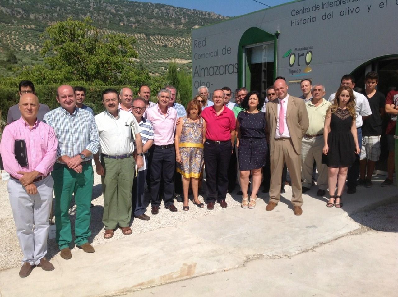 La Junta ensalza la proyecci�n tur�stica de la red de almazaras de la Sierra Sur en torno a la promo