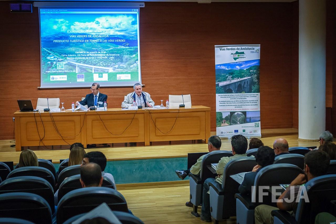 La Junta y la Fundaci�n de Ferrocarriles Espa�oles presentan en Tierra Adentro las v�as verdes como