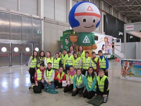 M�s de 200 escolares de la provincia han aprendido en Feduca a prevenir los riesgos de su entorno y