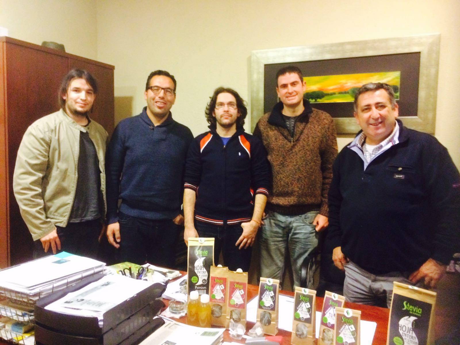 Reuniones de Grupo Proa con Proyectos LINCE