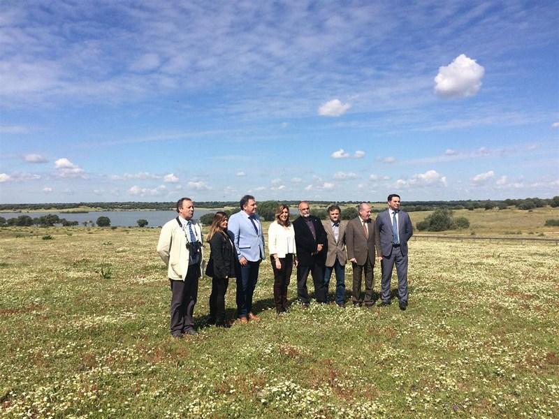 Susana D�az pone en valor el turismo ornitol�gico en la inauguraci�n de la 'Do�ana Birdfair'
